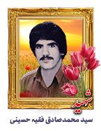 شهید سید محمدصادق فقیه حسینی
